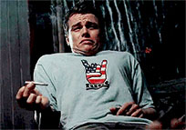 Leonardo DiCaprio smokes moving picture