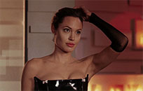 Angelina Jolie hair animated GIF