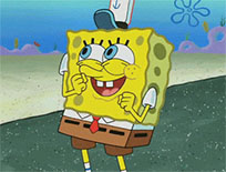SpongeBob dancing animated GIF