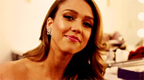 Jessica Alba says hello moving picture