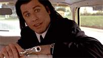 John Travolta Pulp Fiction moving picture