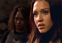 Jessica Alba reaction moving picture
