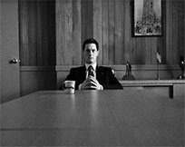 Twin Peaks agent Dale Cooper moving picture