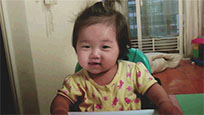 Asian baby joy free GIF download