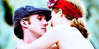 The Notebook kiss animated GIF