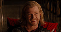 Chris Hemsworth flirts free GIF download