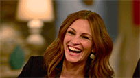 Julia Roberts laughs moving picture
