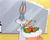 Bugs Bunny Barber of Seville animated GIF