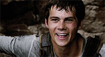 Dylan O Brien funny reaction moving picture