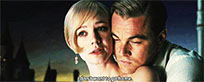 Carey Mulligan and Leonardo DiCaprio animated GIF