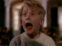 Home Alone shock reaction animated GIF