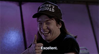 Wayne's World animated GIF