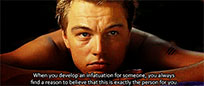 Leonardo DiCaprio pensive moving picture