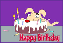 Happy Birthday clipart animated GIF