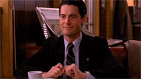 Dale Cooper smiles free GIF download