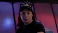 Waynes World excellent moving picture