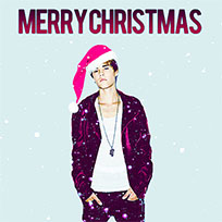 Justin Bieber Christmas animated GIF