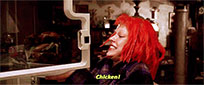 Fifth Element Chicken free GIF download