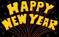 Happy New Year Gif animated GIF