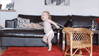 Dancing baby adorable animated GIF