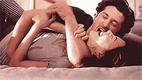 Derek and Meredith kiss moving picture