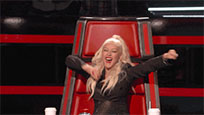 Christina Aguilera Yay animated GIF