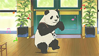 Dancing panda failure free GIF download