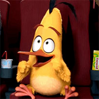 Angry Birds movie happy excited animated GIF