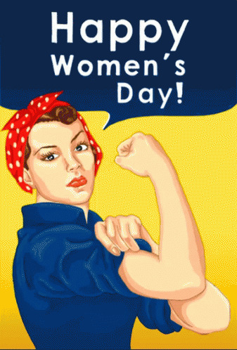 International Womens Day animated GIF