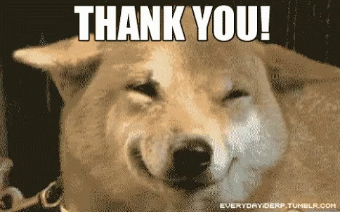 Thank You Thanks free GIF download