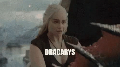 Cant Wait Dracarys free GIF download