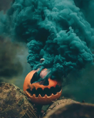 Halloween Smoking free GIF download