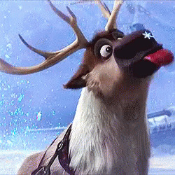 Frozen Reindeer moving picture