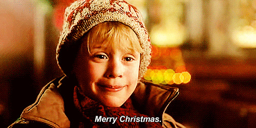 Merry Christmas animated GIF