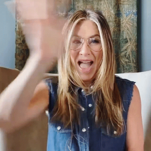 Jennifer Aniston animated GIF