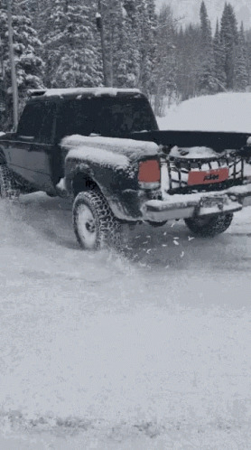 Snow Day Drift free GIF download