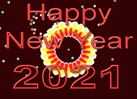 Happy New Year 2021 moving picture