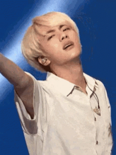 Jin BTS animated GIF