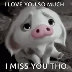 IMiss You Tho Disney animated GIF