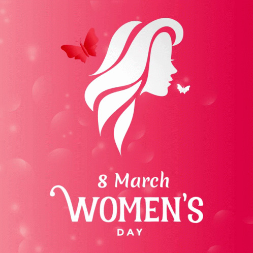 Womanday 8march free GIF download
