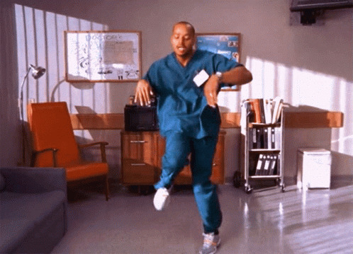 Scrubs Turk moving picture